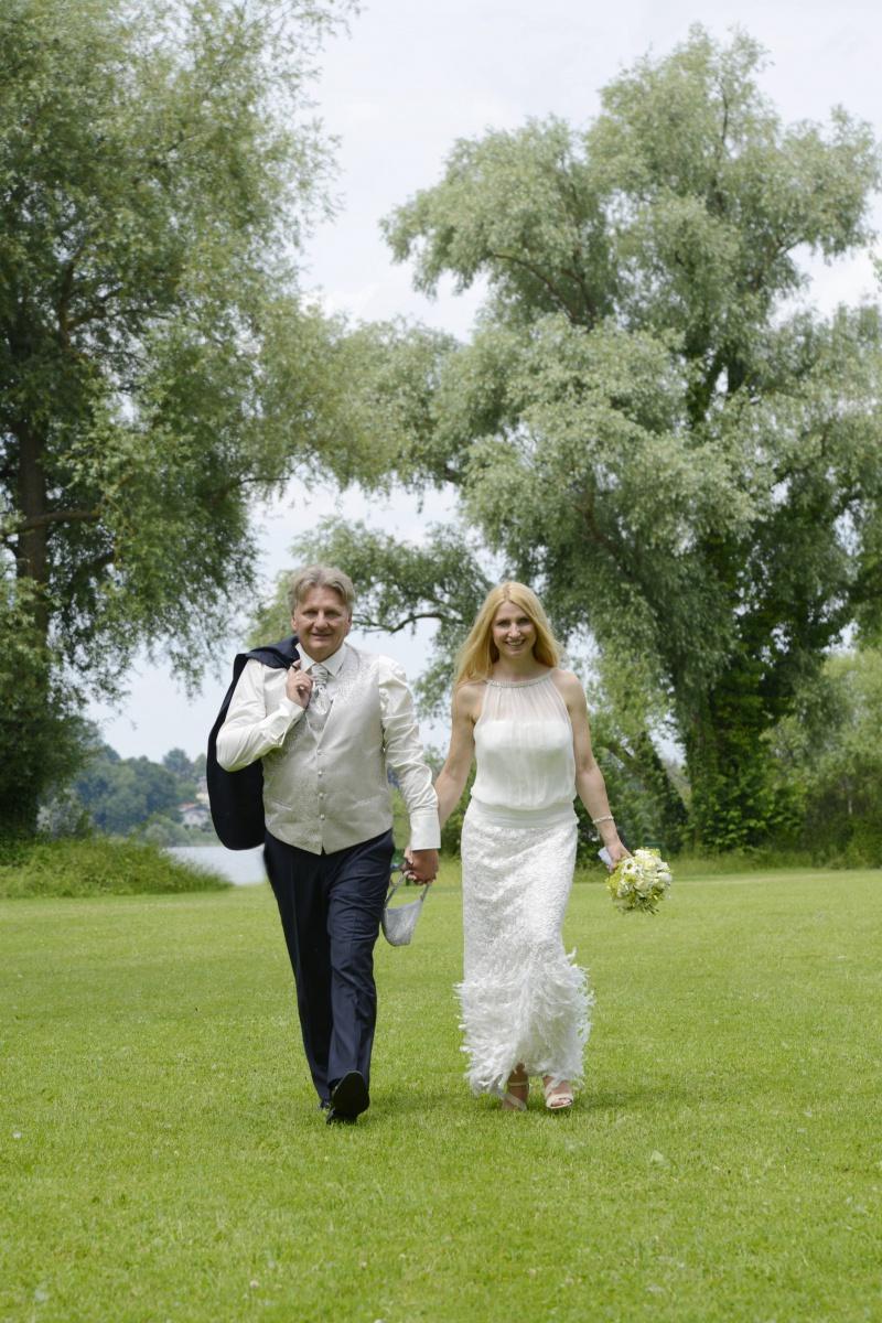 Hochzeitsfotografie im Chiemgau © Fotostudio Werner Blauhorn in Prien