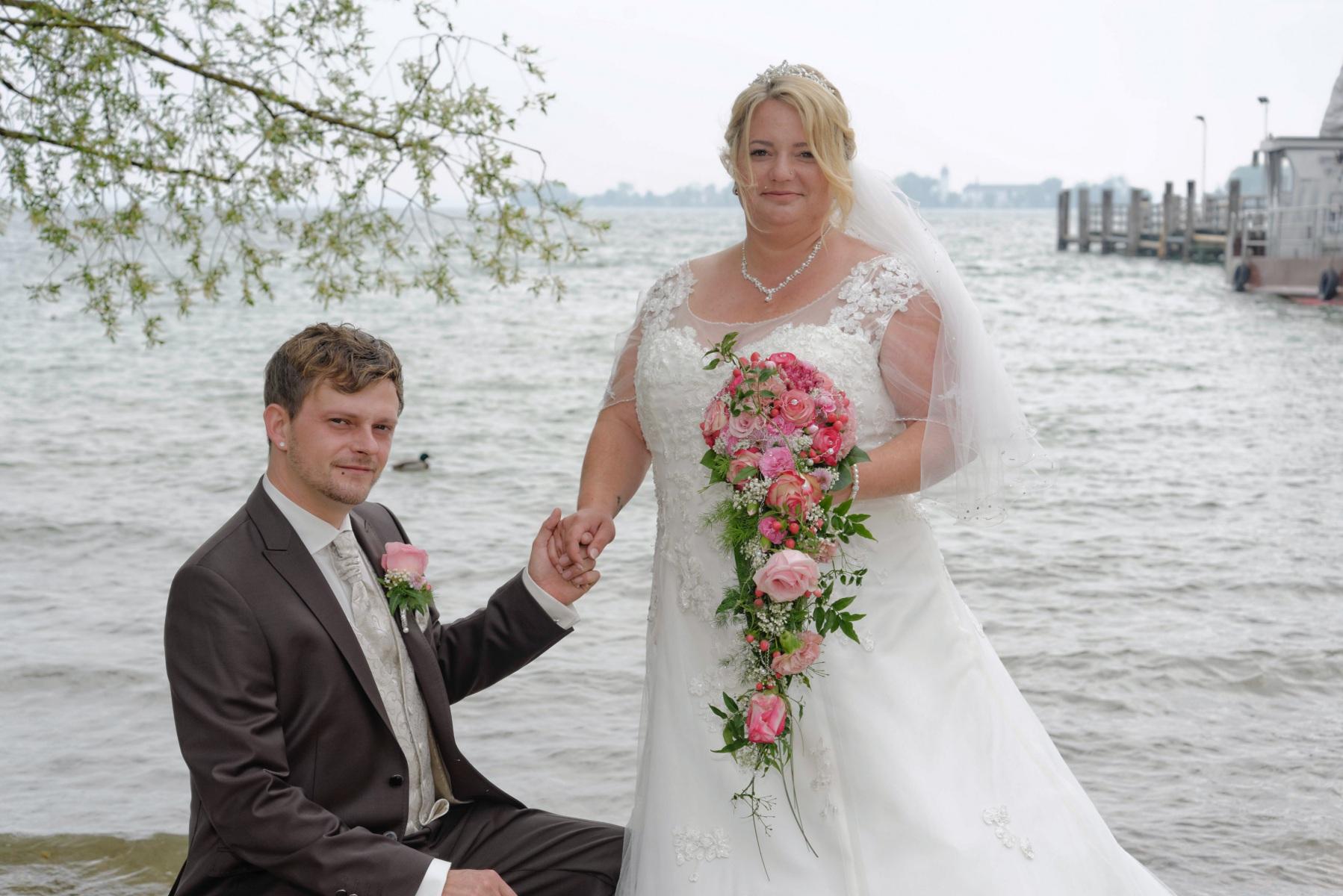 Hochzeitsfotografie auf der Herreninsel © Fotostudio Werner Blauhorn in Prien im Chiemgau